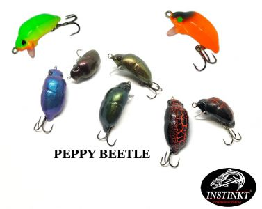 Воблер Instinkt Peppy Beetle в новых расцветках